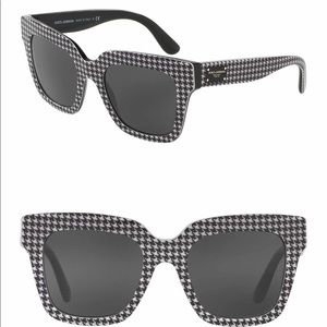 Dolce & Gabbana houndstooth Sunglasses 54/20/140